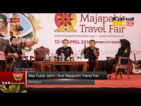 Bea Cukai Jatim I Ikuti Majapahit Travel Fair
