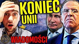 BNB Całkowita PORAŻKA Unii! Rosja ZERWAŁA WSPÓŁPRACĘ