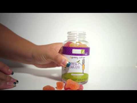 Natural Dynamix (NDX), Gummy Cuties, Kids Omega-3 DHA/EPA, 60 Gummy Cuties