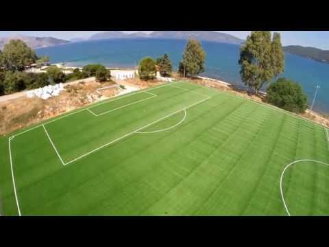 Το γήπεδο του Καραβόμυλου από ψηλά [video]