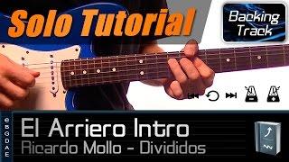 El Arriero Intro (Divididos) / Tutorial de Guitarra - Como tocar + TABS
