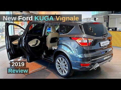 New Ford KUGA Vignale 2019 Review Interior Exterior