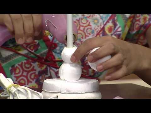 Mulher.com 27/02/2014 Renata Csota - Abalour torneado Parte 1/2
