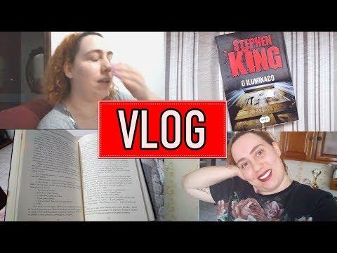 VLOG #3 | LENDO O ILUMINADO E BRIDGET JONES | Baú Literário