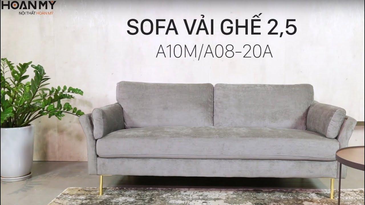 Nội Thất Hoàn Mỹ | Sofa vải 2,5 chỗ A10M A08 20A