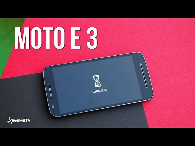 Moto E3, test a fondo