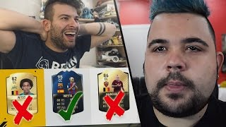 IL FUT DRAFT CHE NON PIACE A CICCIOGAMER89! 🎮 [FIFA 17 ITA]