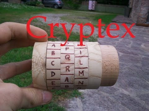 HOMEMADE WOODEN CRYPTEX !!!