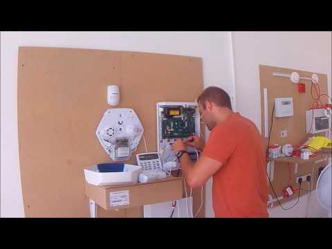 intruder alarm installation course - YouTube