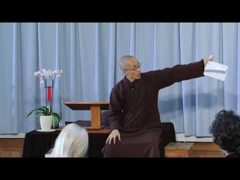 """Old Path, White Clouds"", a Dharma Talk by Thầy Pháp Dung - 2015 02 02 UH EN"