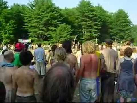 Ohm circle, rainbow gathering 2010, Pa