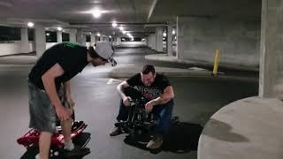 I Crashed The Crazy Cart! FPV & Crazy carts