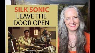 Voice Teacher Reaction to Bruno Mars, Anderson Paak, Silk Sonic - Leave the Door Open