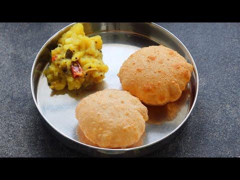 Poori Masala – Potato Baji Recipe – Potato Masala – ASMR | Skinny Recipes