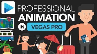 How to Make Explainer Video Animation in VEGAS Pro