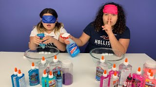 Download Video Mary CHEATED!!! Blindfolded Slime Challenge! MP3 3GP MP4