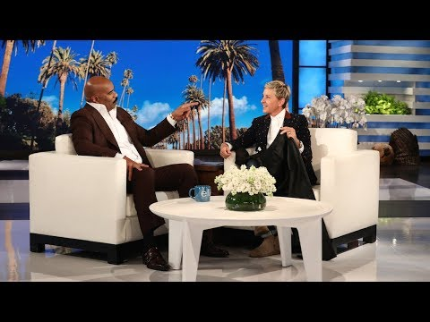 , title : 'How Steve Harvey's Grandkids Convinced Him to Buy an $8,500 Teepee'