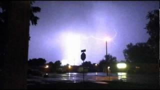 lighting storm to Disappearing One by Chris Cornell