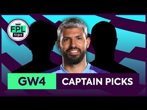 GW4: TOP 3 FPL CAPTAINCY PICKS | Gameweek 4 | Fantasy Premier League Tips 2019/20