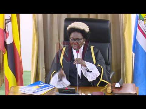 Parliament debates report on security minister Gen. Elly Tumwine