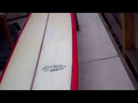 Hawaiian Pro Designs Joel Tudor 60's Longboard Classic – Takayama Noserider