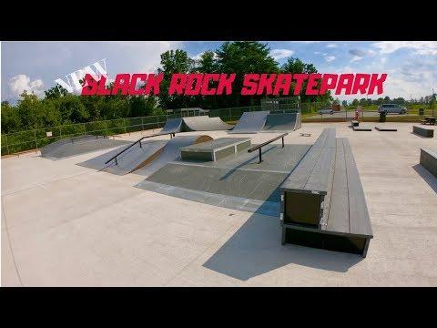 NEW SET UP: BLACK ROCK SKATE PARK TOUR