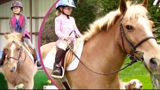 Little Sisters Horse Riding Lessons