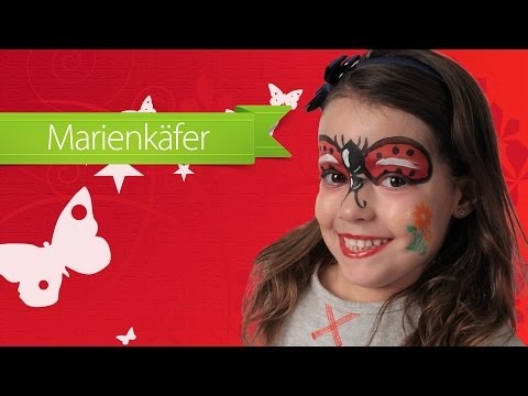 Marienkäfer Make-Up Anleitung