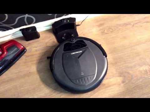 Liectroux B3000 Saugroboter mit Fernbedienung. Touch sowie programmierbar