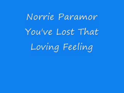 Norrie Paramor - You've Lost That Loving Feeling