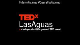 Alcalde de Medellin - Federico Gutiérrez - TEDxLasAguas TEDX