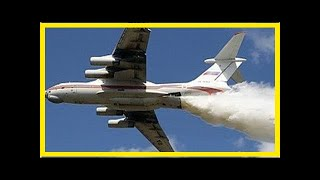 Под Москвой Ил-76 случайно сбросил 40 тонн воды на полицейских | TVRu