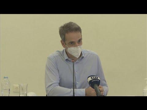 Κ. Μητσοτάκης: Μοναδικό ζήτημα η οριοθέτηση των Θαλασσίων ζωνών
