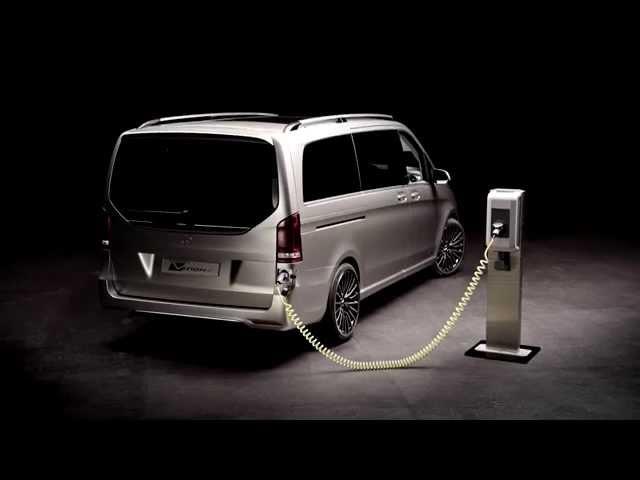 Geneva Motor Show 2015 - Mercedes-Benz Concept V-ision e PLUG-IN HYBRID Exterior Design | AutoMotoTV