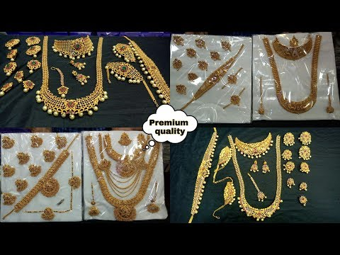 Mugurtham jewellery collections with price   bridal sets at sowcarpet in tamil