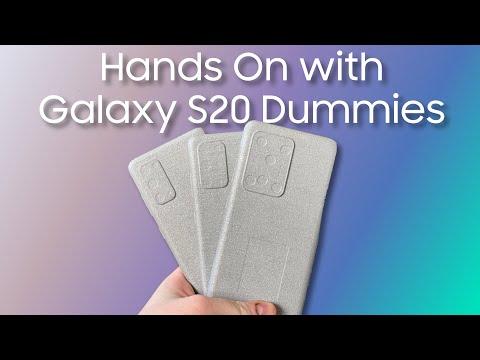 Galaxy S20: la differenza tra le dimensioni dei tre modelli