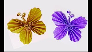 Gambar cover ➽ EASY PAPER BUTTERFLY !! DIY Room Decoration | Innovative Arts