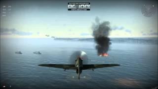 preview picture of video 'Tercera misión y muchos aviones - Wings of Prey'