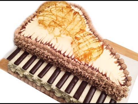 Master Gusto | Amazing and easy Piano Cake | Gâteau piano