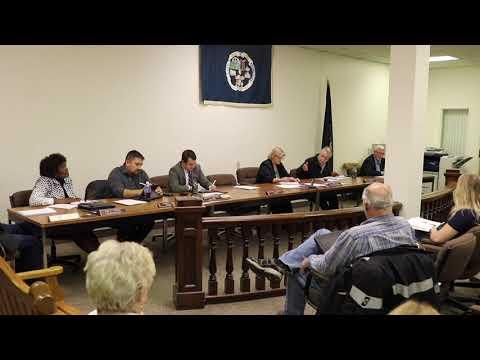Monessen City Council Meeting 10-24-2019