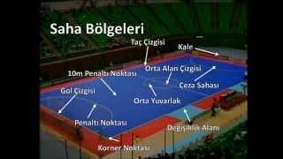 Futsal Oyun Kuralları 1 - Oyun Alanı