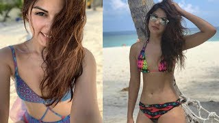 Rhea Chakraborty Hot Bikini Photos