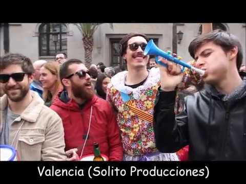 FALLAS 2018 CULLERA Y VALENCIA de Solito Producciones Spain (YOUTUBE-FACEBOOK)
