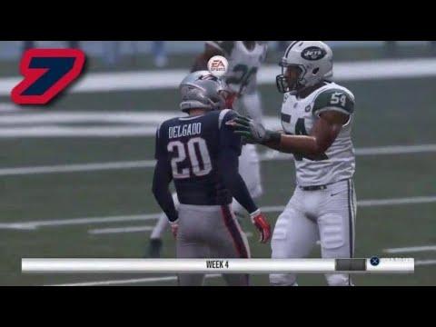 Madden NFL 19 PS4 Career Mode - RUNNING ALL DAY