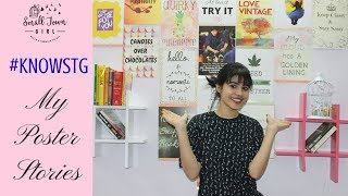 Wall Decor DIY Ideas | My Poster Stories | Giveaway(closed) | Small Town Girl | Anshu Jain