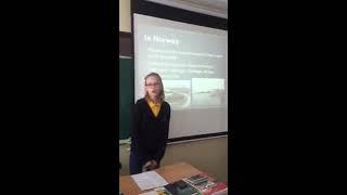 Vėjūnė 6C Presentation about Norway for the European Day of Languages Basanavičius pre gymnasium 20
