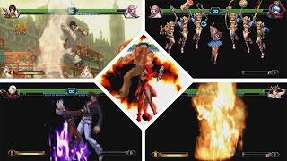 The King of Fighters XIII   All characters NeoMAX   MAX CANCEL   KOF XIII