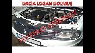 Dacia Logan 1.5 dizel hidrojen yakıt tasarruf sistem montajı