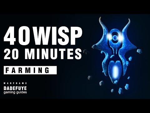 Warframe | How to Farm 40 CETUS WISPS in 20 minutes - DADEFUYE MEDIA