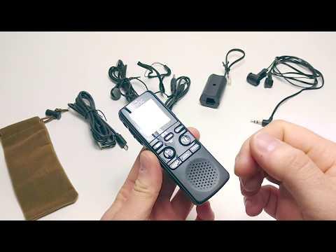 Recensione registratore vocale / dittafono da 8GB, con microfoni stereo e binaurale Miric